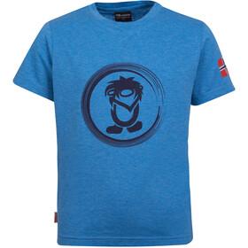 TROLLKIDS Trollfjord T-shirt Børn, blå